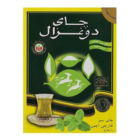 چاي سبز نعناع 100 گرمی دوغزال