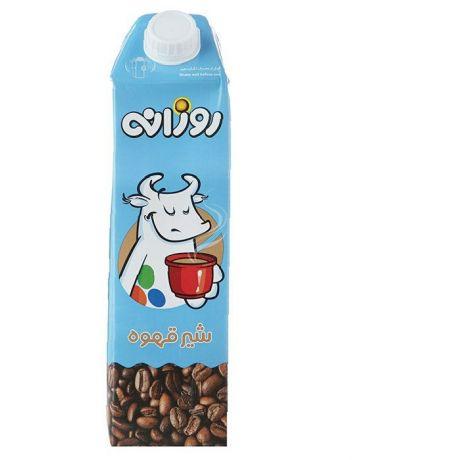 شير قهوه يک ليتری روزانه