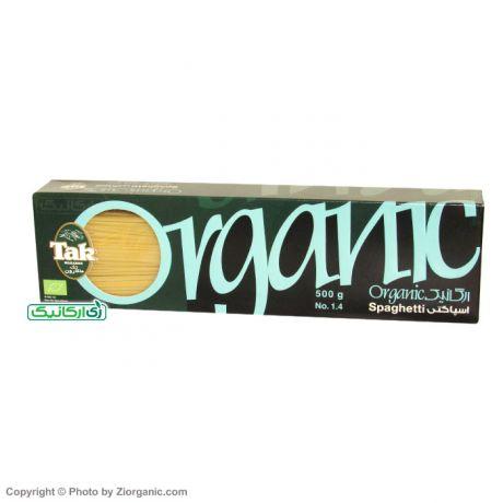 اسپاگتی ارگانیک 1/4 جعبه 500گرم