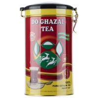 چای قوطی 400 گرمی ساده دوغزال اصل