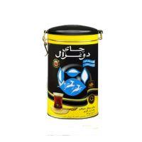 چای قوطی 400 گرمی عطری دوغزال اصل