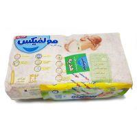 پوشک بچه دوقلو نوزادی 42 عددی (به همراه هدیه دستمال مرطوب)