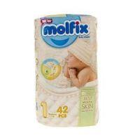 پوشک دوقلو نوزادی مولفیکس 40 عددی